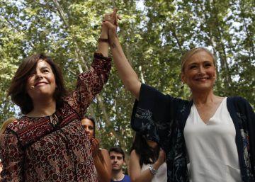 La vicepresidenta organiza una parodia con el programa de Podemos