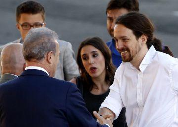 Iglesias solo quiere competir con el presidente