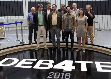 En campaña o viendo la Eurocopa, los candidatos antes del debate a cuatro