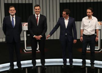 Four-way debate suggests little change to political landscape
