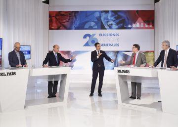 Consulta el debate de los responsables económicos en EL PAÍS