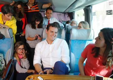 Detrás del candidato | Con Albert Rivera en Salamanca