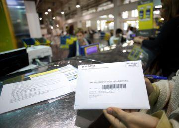 Las vacaciones provocan que el voto por correo para el 26-J se duplique