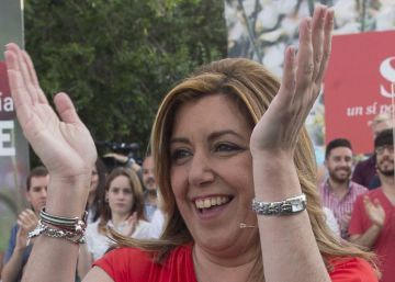 """Susana Díaz: """"A Pablo Iglesias solo le queda afiliarse al PSOE"""""""
