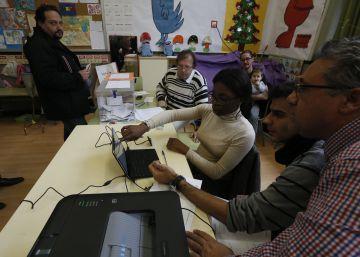 El voto de los nuevos españoles tiene acento 'rojo'