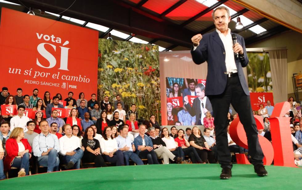 """Zapatero: """"Agradezco las palabras de Iglesias, son un reconocimiento al PSOE"""""""