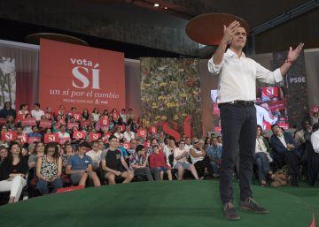 El PSOE pide a los socialistas que desafíen a las encuestas