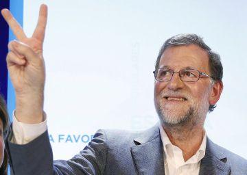 Rajoy concede que Podemos puede ganar si el voto moderado se divide