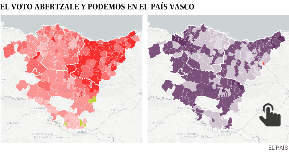 The Basque people who can not seduce Pablo Iglesias