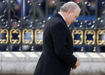 """Fernández Díaz: """"Acusarme de conspirar es una injuria y una estupidez"""""""