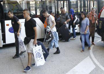 66 refugiados sirios llegan a España, con lo que ya ha reubicado 200
