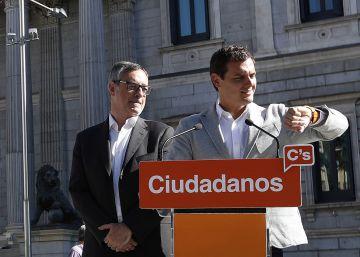 Rivera no usará el pacto con el PSOE como base para negociar tras el 26-J