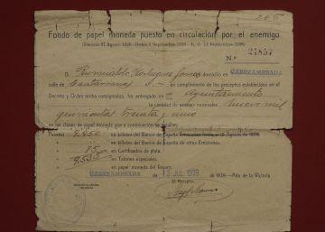 Garzón demanda al Estado por el 'dinero rojo' que incautó Franco