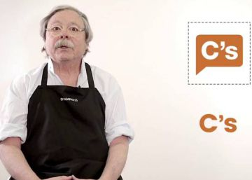 Alberto Corazón disecciona los logos de los partidos políticos