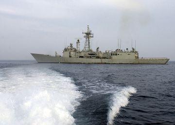 Un militar puso en riesgo la fragata 'Victoria' tras robar 6.000 kilos de cable