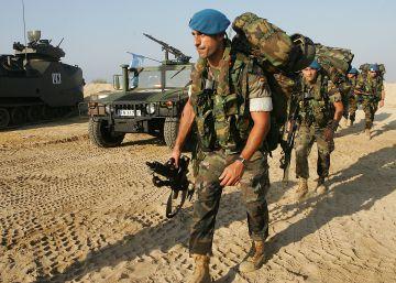 Muere un 'casco azul' español en Líbano por un disparo con su arma