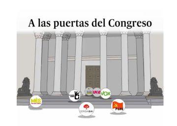 Todo queda igual para los partidos sin representación en el Congreso