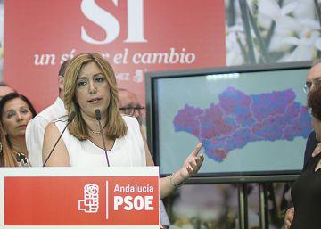 Susana Díaz cree que el PSOE debe permitir a Rajoy formar gobierno