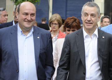 El PNV emplaza al PSOE a cargar con el coste de un pacto con el Partido Popular