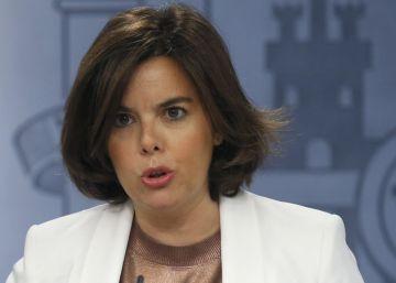 Directo | Santamaría comparece tras el Consejo de Ministros