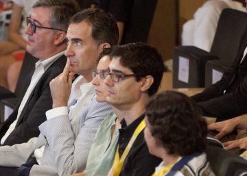 El Rey comparte una jornada sobre el talento con emprendedores en Cataluña