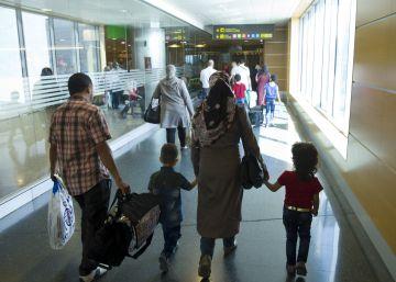 España ha recibido solo la mitad de refugiados previstos