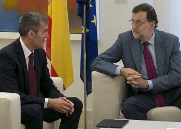Coalición Canaria avanza que Mariano Rajoy aceptará esta vez el encargo del Rey