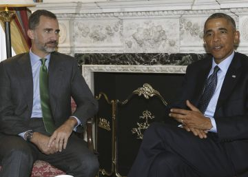 Spanish opposition leaders will dine with Obama at Royal Palace