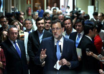 Rajoy mete presión para ser investido a finales de julio