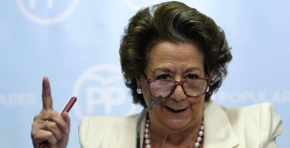 Rita Barbera, en una imagen de archivo.