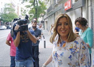 Los líderes territoriales del PSOE avalan el 'no' de Sánchez a Rajoy