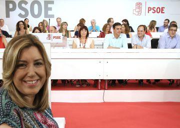 """Susana Díaz: """"Nos hemos salvado por la campana"""""""