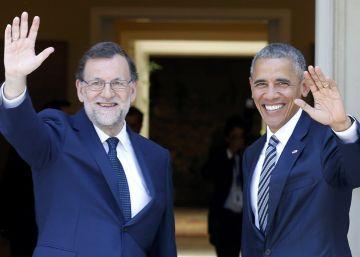 Obama advierte ante Rajoy de que la desigualdad alimenta el populismo