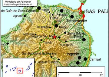 Un terremoto de 3,9 sacude la isla de Gran Canaria
