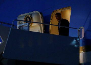 Obama agradeció al Rey en el vuelo de regreso el trato recibido en España