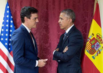 Las codiciadas fotos con Obama en España llegan 48 horas después