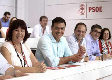 El PSOE se mantiene en el 'no' a Rajoy pese a la presión