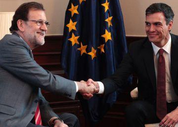 Sánchez pretende que Rajoy consiga el 'sí' de Rivera