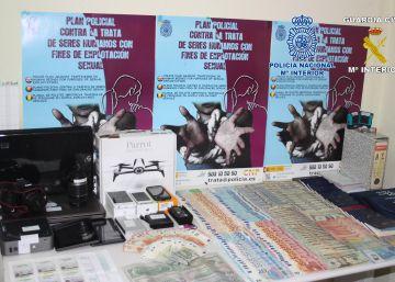 Cae una red de falsificación de moneda en Murcia