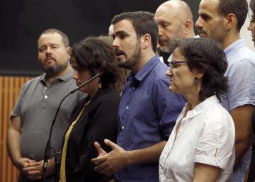 Podemos cree que Garzón debe tener una portavocía en el grupo parlamentario