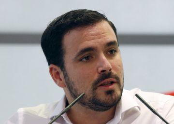 """Garzón avisa a las corrientes de IU: """"No voy a hablar de cuotas"""""""