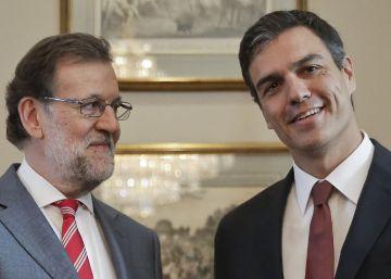 Sánchez reúne al grupo parlamentario socialista para ratificar el no a Rajoy