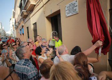 Cádiz homenajea a su primera víctima del golpe de Estado