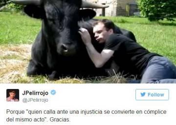 Nestlé despide a JPelirrojo tras varios tuits celebrando la muerte del torero Víctor Barrio