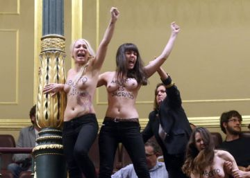 Arranca el juicio contra las activistas de Femen que se desnudaron para defender el aborto