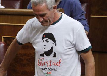 El Congreso se llena de camisetas reivindicativas