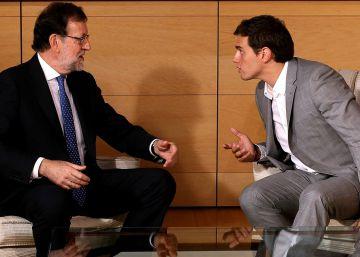 Rajoy le envía a Rivera datos económicos para negociar