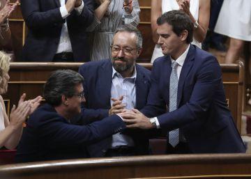 Rivera amenaza a Rajoy con el voto en contra si pacta con nacionalistas