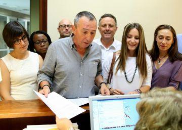 La candidatura valenciana de Podemos registra la petición de grupo propio