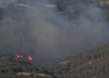 Incendio en el Monte Gurugú